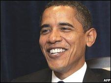Barack Obama on 17 November
