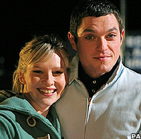Joanna Page and Mathew Horne