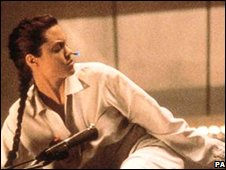 Angelina jolie in the Tomb Raider movie