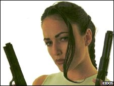 Nathalie Cook as Lara Croft 1996
