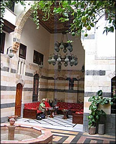 Beit Al-Joury courtyard
