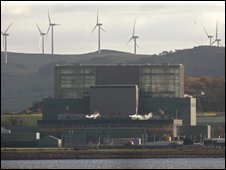 Hunterston Power Station in Largs
