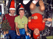 Christmas at the ISS