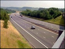 A74(M) motorway