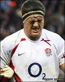 England prop Andrew Sheridan