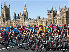 The 2007 Grand Depart was watched by a reported 500,000 fans in London