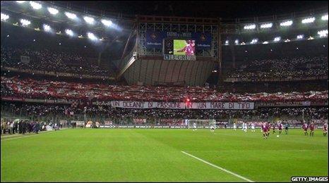 Stadio Delle Alpi in 2002