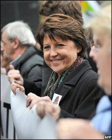 Martine Aubry (Nov 2008)