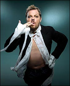 Eddie Izzard Stripped poster