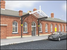 Image of Ormskirk station