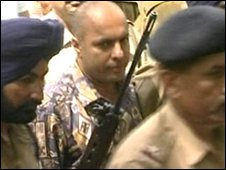 Maninder Pal Singh Kohli after his arrest