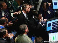 New York Stock Exchange traders, 20 November