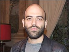Roberto Saviano, the author of Gomorrah book
