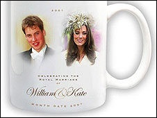William and Kate wedding souvenir