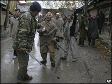 Confrontation in Ganderbal - 13.11.08