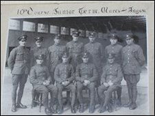 Officers who trained at RAF Sealand