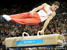 Louis Smith at the 2006 Commonwealth Games