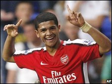 Arsenal's Denilson
