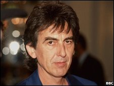 The Beatles' guitarist George Harrison