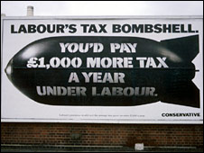 The Conservatives' 1992 election poster