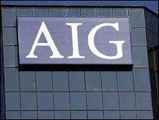An American International Group (AIG) office building