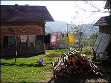 Rebuilt house in Sevarlija