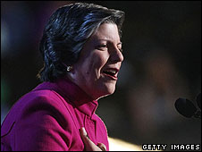 Arizona Governor Janet Napolitano