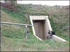 Bunker near Twyford