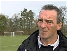 Swindon caretaker manager Dave Byrne