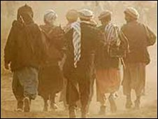 Mujahideen fighters in Afghanistan