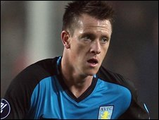 Villa defender Nicky Shorey