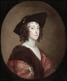 Portrait of Katherine, Lady Stanhope (c.1635-1636). Private collection.