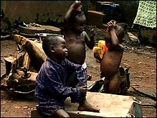 Children in Freetown, Sierra Leone