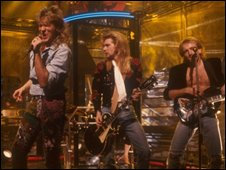 Def Leppard on Top of the Pops