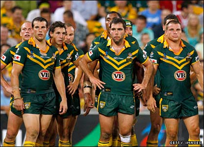 The Australians are left stunned by the defeat