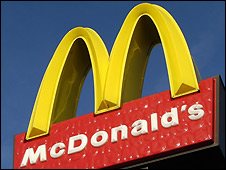 McDonald's golden arches - file photo