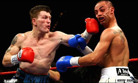 Ricky Hatton and Paulie Malignaggi