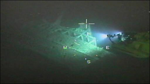 Britannic Wreck Pictures http://news.bbc.co.uk/2/hi/europe/7744424.stm