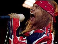 Axl Rose in 1992