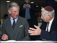 Prince Charles and Steven Mendleson