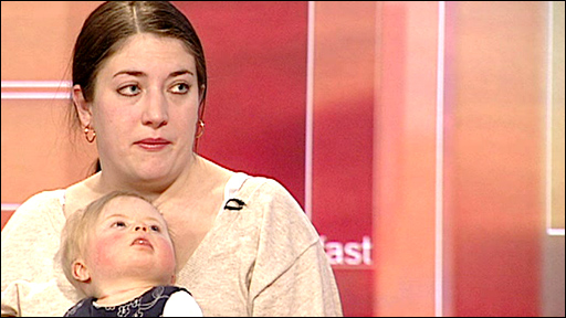 Louise Bronson and her daughter Skyla
