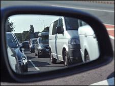 Traffic jam (BBC)