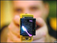 Taser stun gun