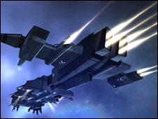 Screenshot from Eve Online, CCP Games
