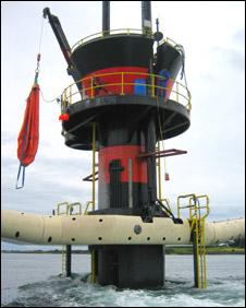 SeaGen. Pic: Marine Current Turbines