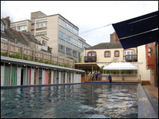 Clifton Lido in Bristol