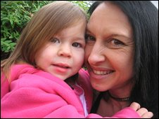 Sharon Amato and daughter