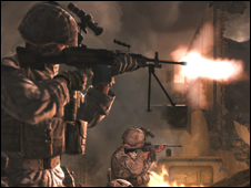 Screenshot from Call of Duty 4, Activision