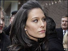 Former KYW-TV news presenter Alycia Lane leaves court in Philadelphia