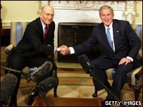 بوش واولمرت